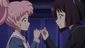 Sailor Moon Crystal Act 29 - Chibiusa and Hotaru make a promise