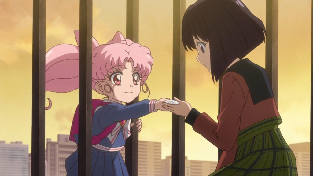 Sailor Moon Crystal Act 29 - Chibiusa returns a bloodless handkerchief