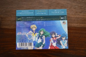 Sailor Moon Crystal Season III CD 1 - Spine