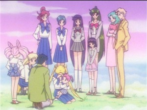 Sailor Moon Sailor Stars episode 198 - Everything is great