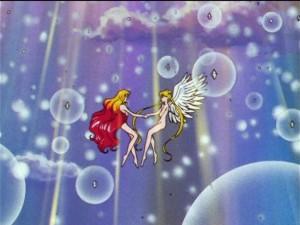 Sailor Moon Sailor Stars episode 200 - Galaxia and Sailor Moon