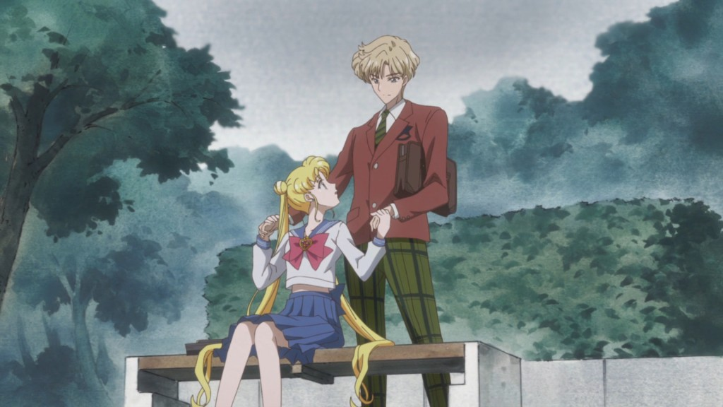 Sailor Moon Crystal Act 30 - Haruka surprises Usagi
