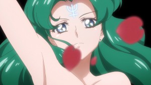 Sailor Moon Crystal Act 30 - Michiru transforms