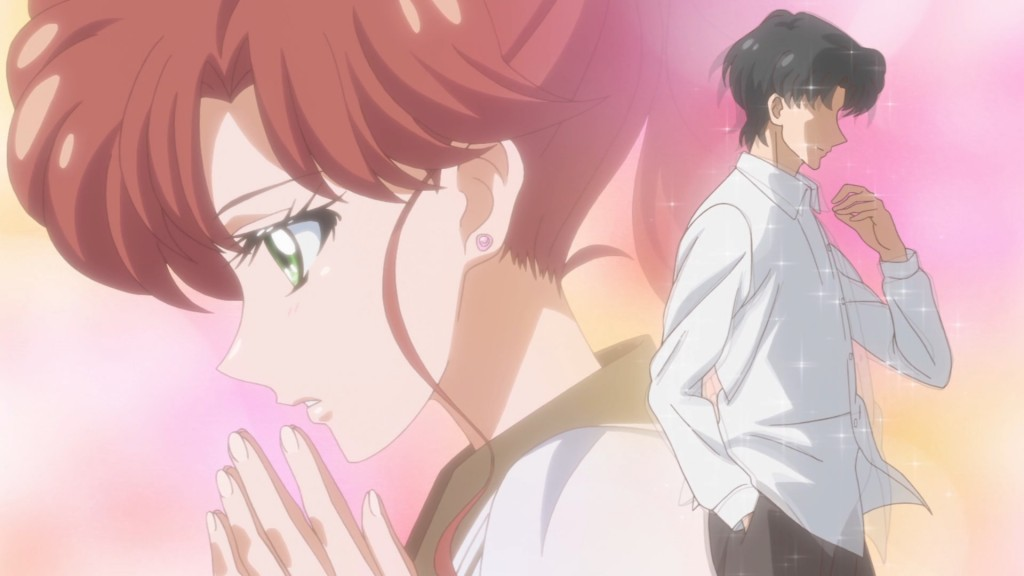 Sailor Moon Crystal Act 31 - Makoto and Nichogi Sempai