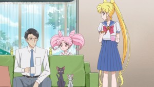 Sailor Moon Crystal Act 32 - Kenji Papa lives!