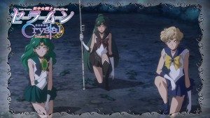 Sailor Moon Crystal Act 32 Preview - Sailor Neptune, Pluto and Uranus