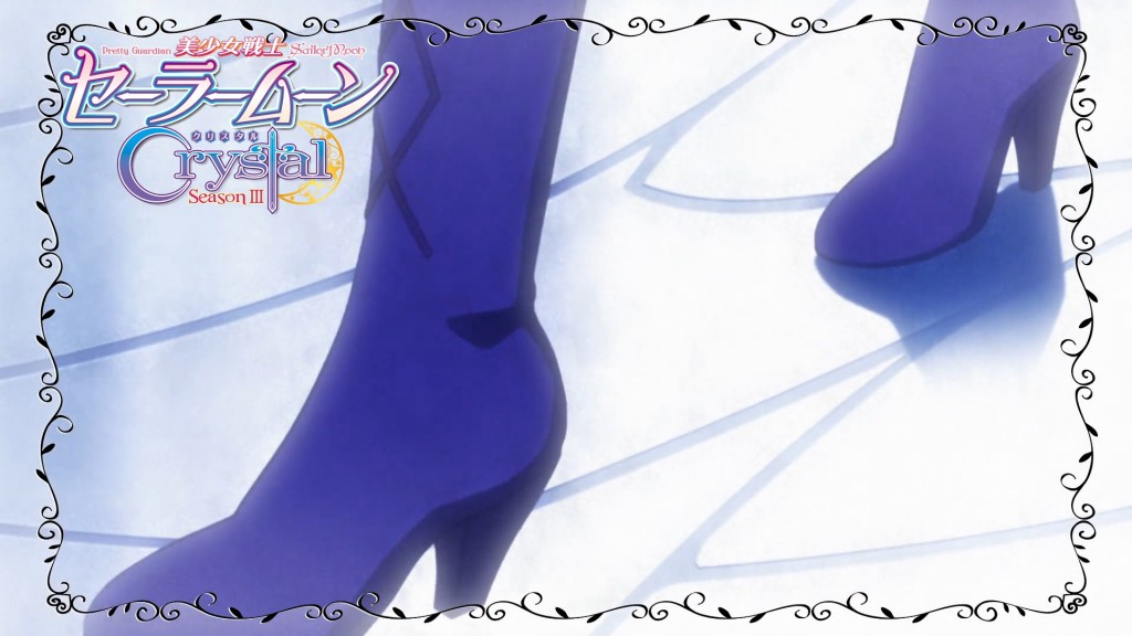 Sailor Moon Crystal Act 33 Preview - Sailor Saturn