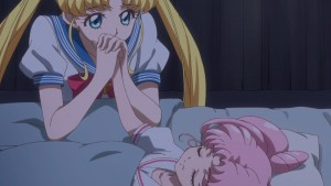 Sailor Moon Crystal Act 34 - Usagi and Chibiusa