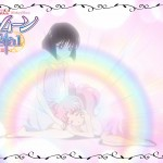 Sailor Moon Crystal Act 35 Preview - Hotaru protecting Chibiusa