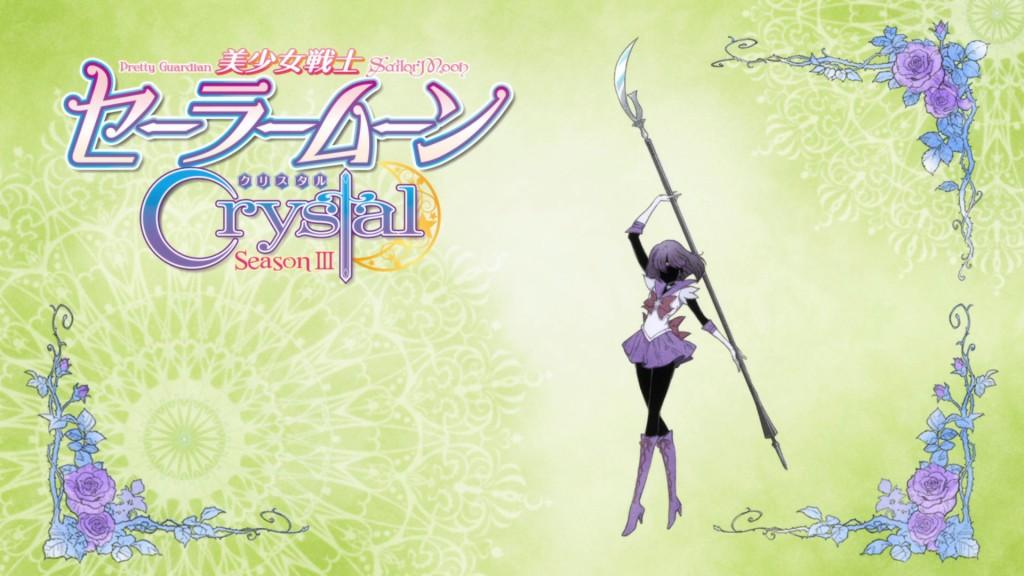 Sailor Moon Crystal bumper - Sailor Saturn