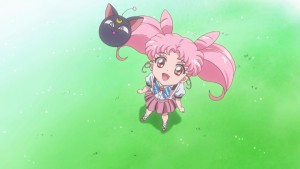 Sailor Moon Crystal Ending - Chibiusa and Luna P
