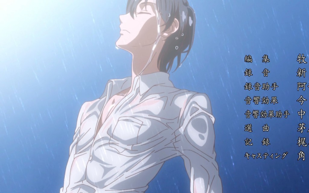 Sailor Moon Crystal Season 3 ending theme - Mamoru in a wet shirt