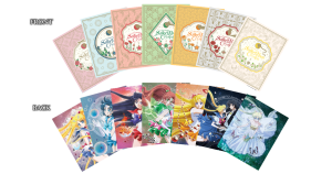 Sailor Moon Crystal set 1 limited edition Blu-Ray - Art cards