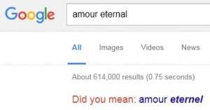 Amour Eternal - Did you mean Amour éternel?