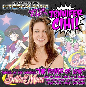 Jennifer Cihi at Villains Con