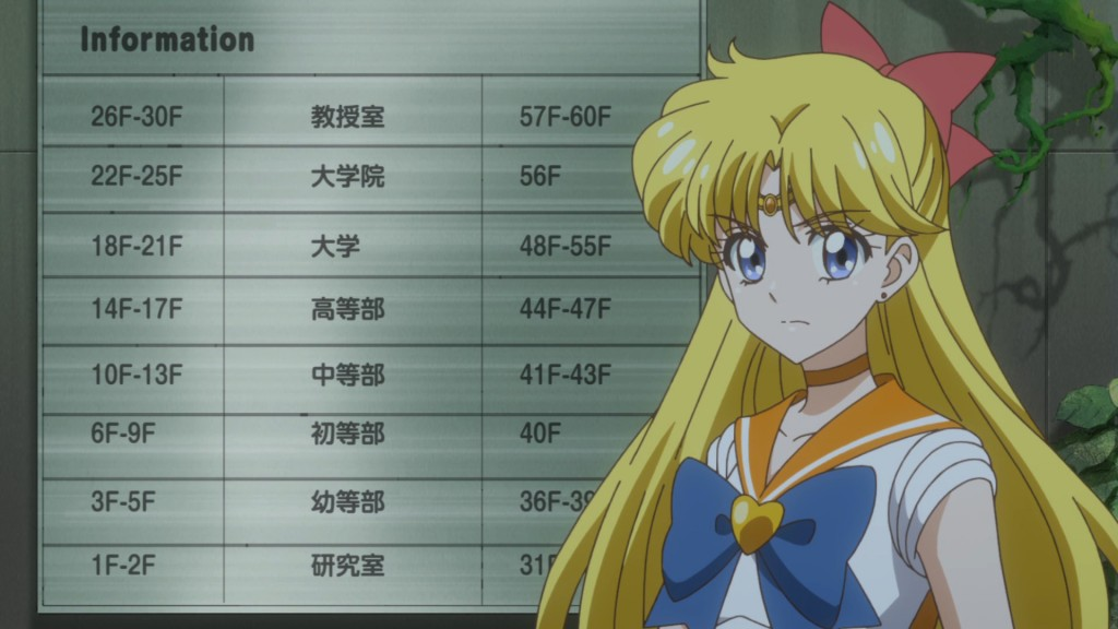 Sailor Moon Crystal Act 35 - A terrible directory