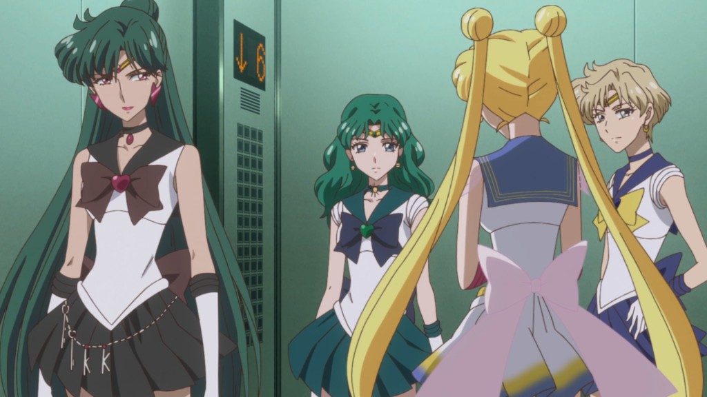 Sailor Moon Crystal Act 35 - Elevator