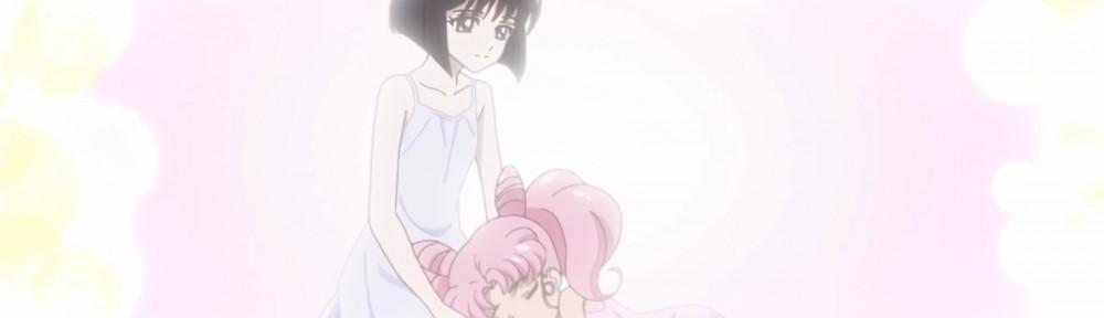 Sailor Moon Crystal Act 35 - Hotaru and Chibiusa