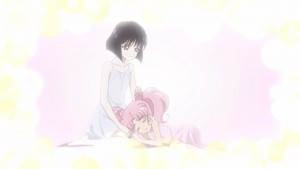 Sailor Moon Crystal Act 35 - Hotaru and Chibiusa