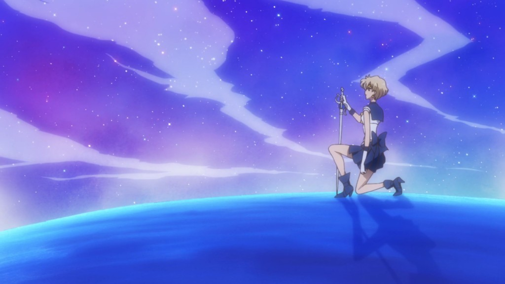 Sailor Moon Crystal Act 35 - Sailor Uranus on Uranus