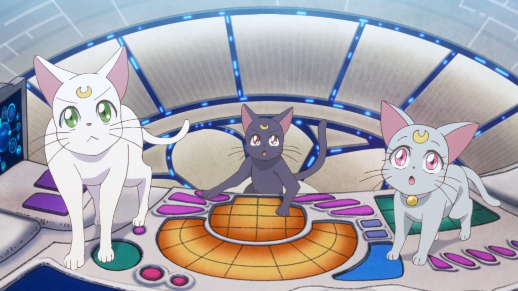 Sailor Moon Crystal Act 36 - Cats