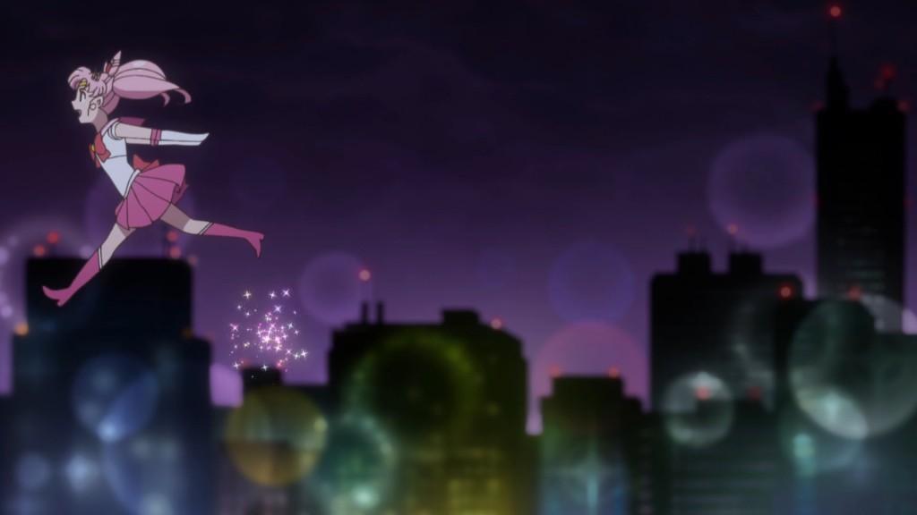Sailor Moon Crystal Act 36 - Sailor Chibi Moon flies