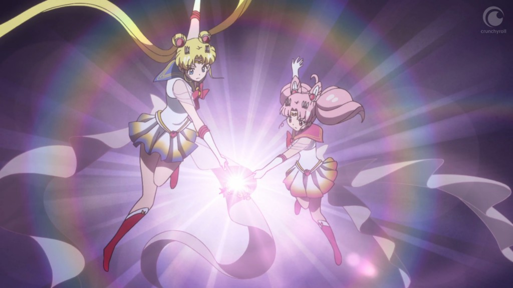 Sailor Moon Crystal Act 36 - Super Sailor Moon and Super Sailor Chibi Moon