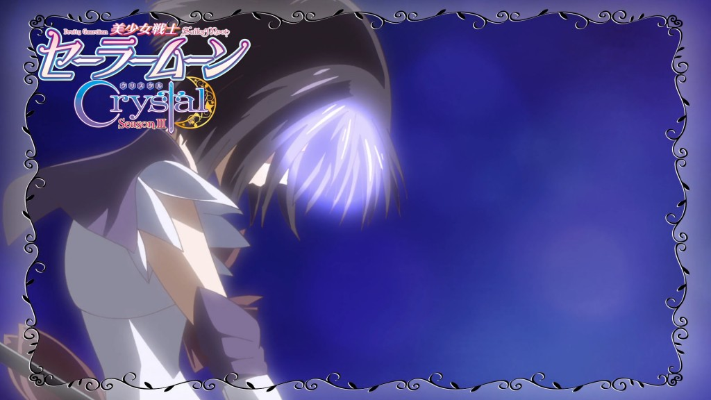 Sailor Moon Crystal Act 37 Preview - Sailor Saturn