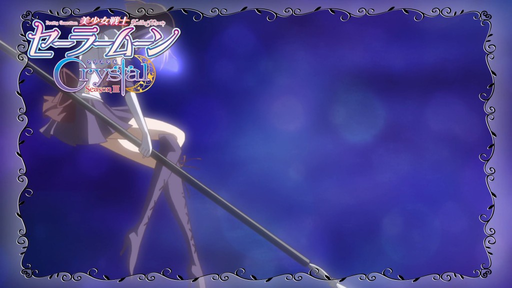Sailor Moon Crystal Act 37 Preview - Sailor Saturn