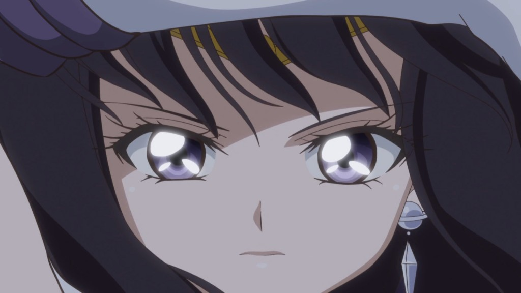 Sailor Moon Crystal Act 37 - Sailor Saturn attacks