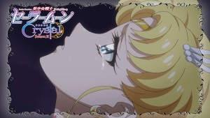Sailor Moon Crystal Act 38 Preview - Super Sailor Moon Crying