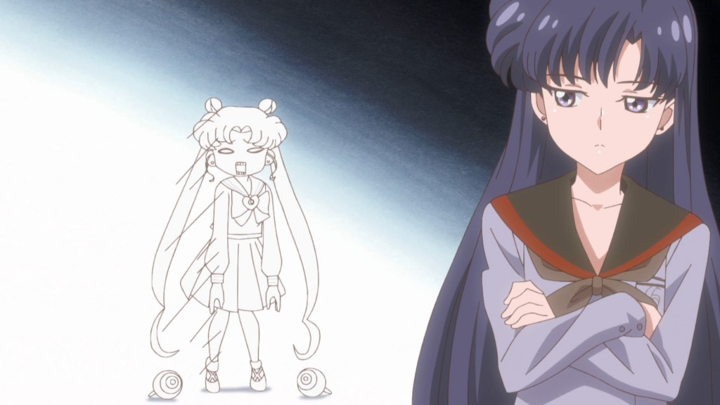 Sailor Moon Crystal Act 38 - Rei disses Usagi