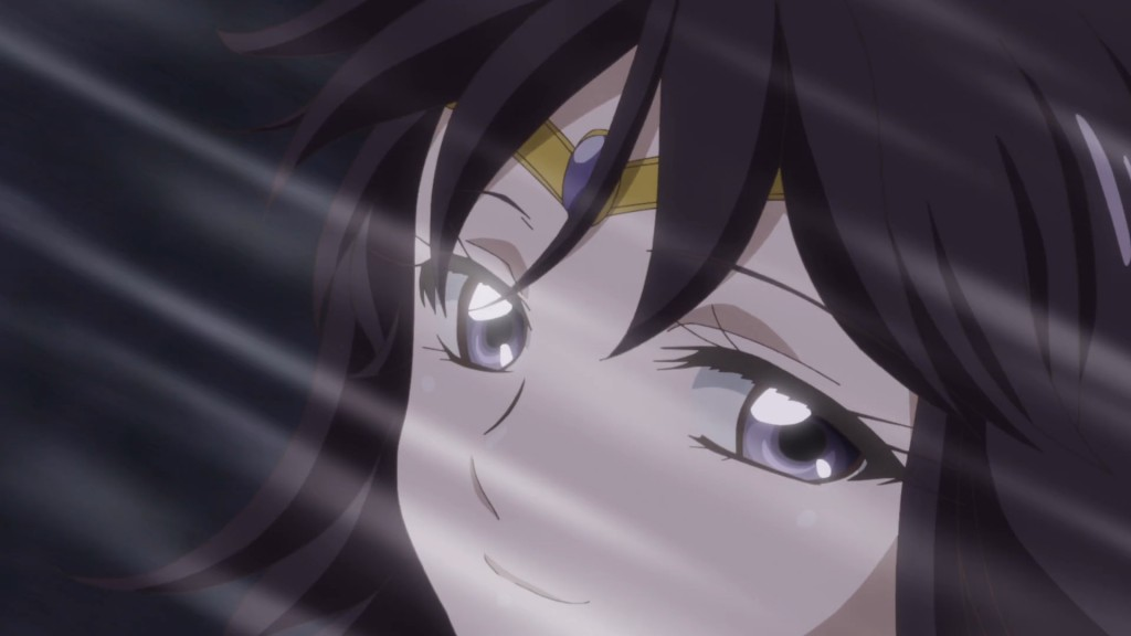 Sailor Moon Crystal Act 38 - Sailor Saturn smiles