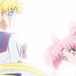 Sailor Moon Crystal Act 38 - Usagi and Chibiusa see Pegasus
