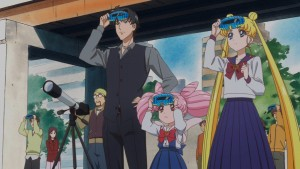 Sailor Moon Crystal Act 38 - Viewing the eclipse