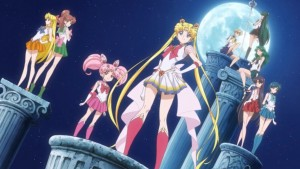 Sailor Moon Crystal Season III - 3rd single - Intro with normal Chibi Moon and no Sailor Saturn