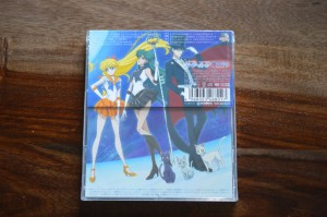 Sailor Moon Crystal Season III - 3rd single - Back