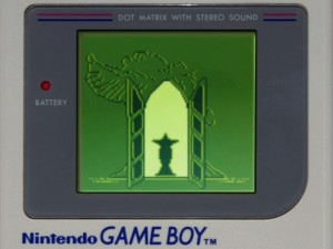 Moon Animate Make-Up 2 - Game Boy screen of the Crystal Palace