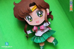 Sailor Jupiter paper cut