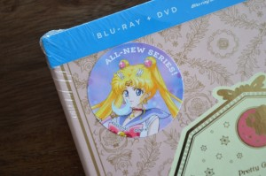 Sailor Moon Crystal Blu-Ray Set 1 - All new series sticker