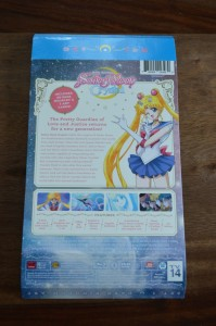 Sailor Moon Crystal Blu-Ray Set 1 - Back cover