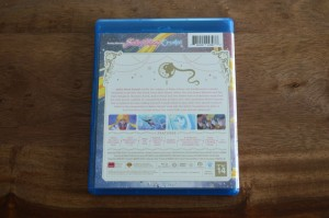 Sailor Moon Crystal Blu-Ray Set 1 - Back