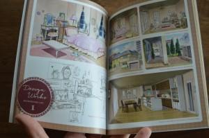 Sailor Moon Crystal Blu-Ray Set 1 - Booklet - Background designs