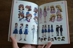 Sailor Moon Crystal Blu-Ray Set 1 - Booklet - Character designs
