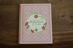 Sailor Moon Crystal Blu-Ray Set 1 - Booklet - Cover