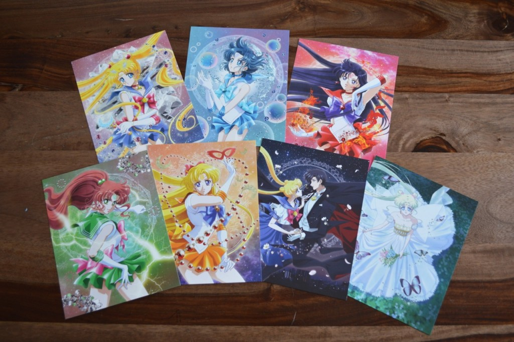 Sailor Moon Crystal Blu-Ray Set 1 - Character art