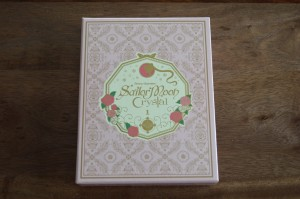 Sailor Moon Crystal Blu-Ray Set 1 - Cover no spine