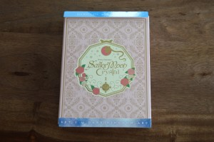 Sailor Moon Crystal Blu-Ray Set 1 - Cover unwrapped