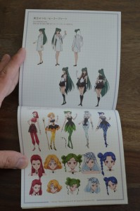 Sailor Moon Crystal Season III Blu-Ray - Vol. 2 - Special Booklet 2 - Pages 18 and 19 - Art for Setsuna and the Witches 5