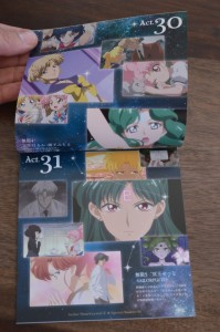 Sailor Moon Crystal Season III Blu-Ray - Vol. 2 - Special Booklet 2 - Pages 2 and 3 - Act 30 and 31